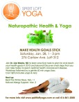 Naturopathic Health Goals and Resolutions Yoga Riverdale/Danforth Toronto